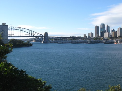 Sydney Harbour, view from near my parents house